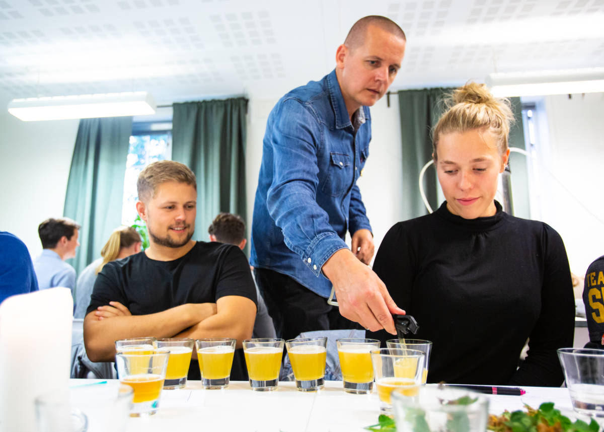 Hafsteinn Snædal ølsmaking kurs