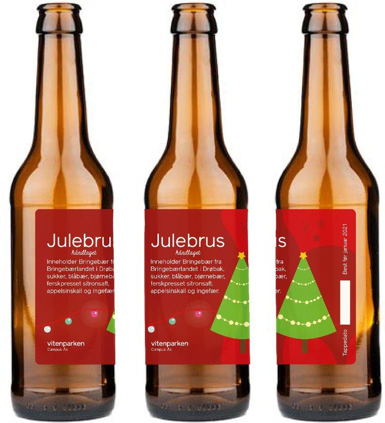 Kokkene våre har vært i full sving og smakt til det som må være Norges beste julebrus!